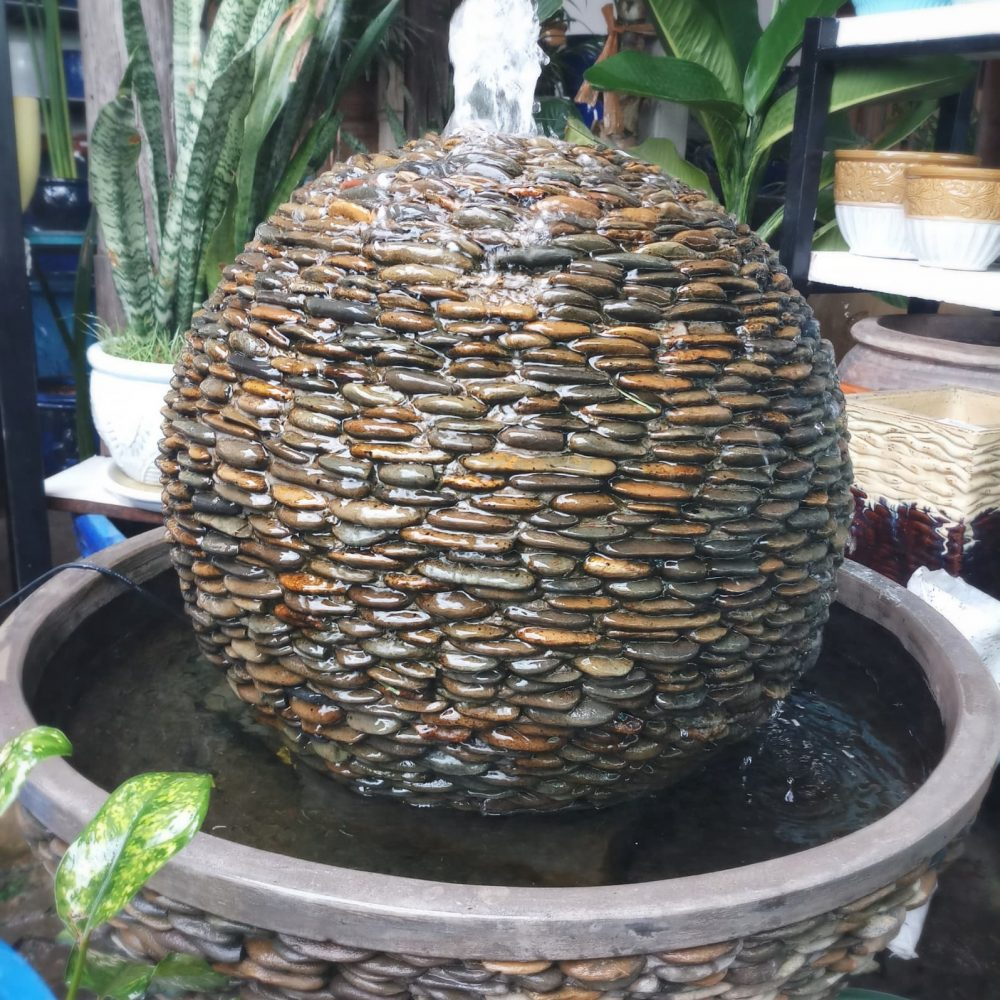 River Stone Fountain